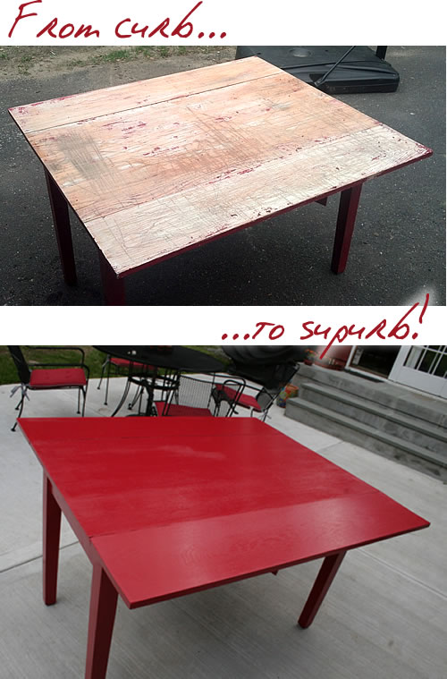 diy furniture restoration before and after