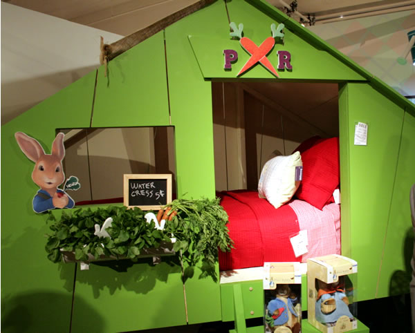 peter rabbit bunk bed for kids
