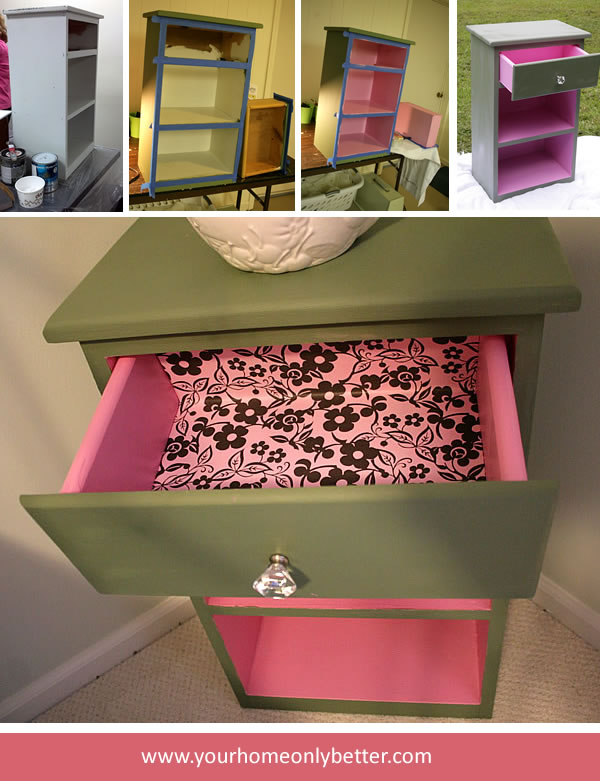 Painted Furniture With An Element of Surprise