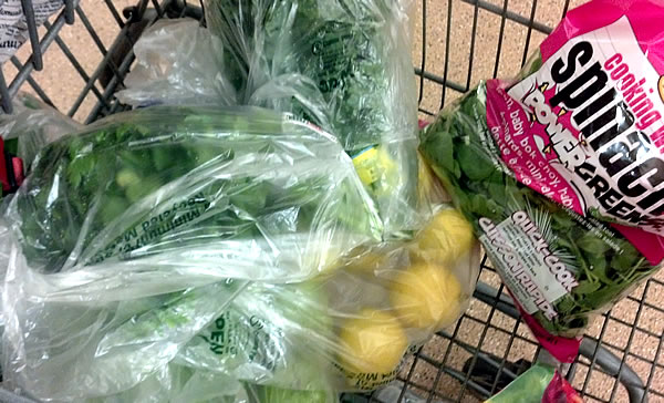 shopping for blue print cleanse juicing ingredients