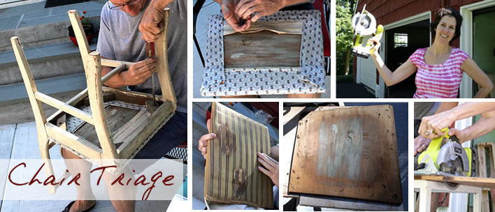diy chair revival upcycling project