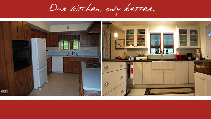 Our Kitchen, Only Better!