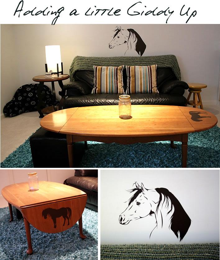 horse wall vinyl decor
