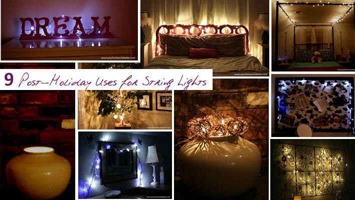 9 Post-Holiday Uses for String Lights