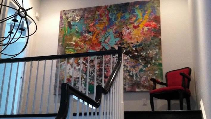 Three Ways to Use Large Wall Art