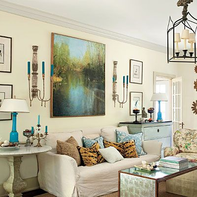 Three ways to use large art @yourhomeonlybetter