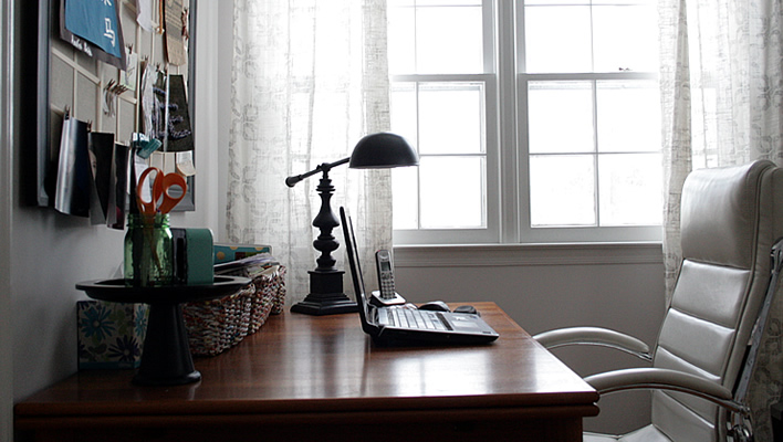 My Real Life Home Office Decor Tour