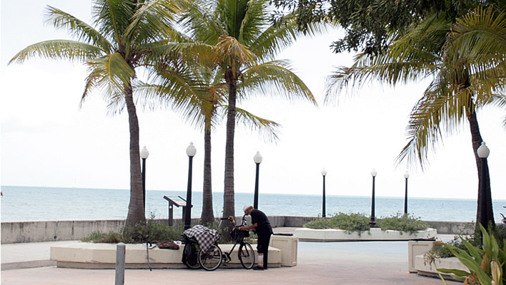 Happy Beach Bikes in Key West
