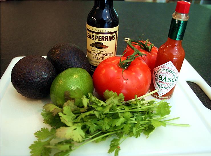 Easy Spicy Avocado Dip