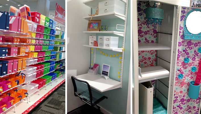 Back-to-school organization at The Container Store