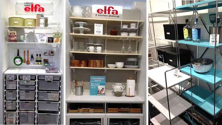 Could you use an Elfa in the kitchen?