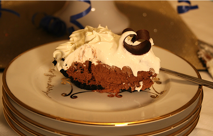 Marie Callender Chocolate Satin Pie