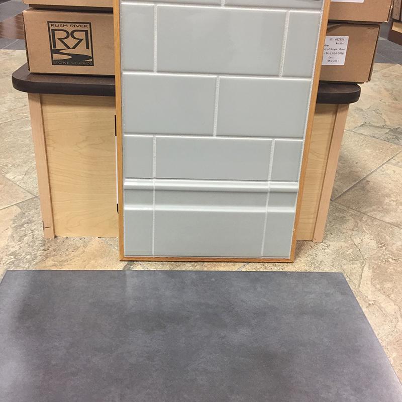 kitchen renovation - tile selection floor and back splash