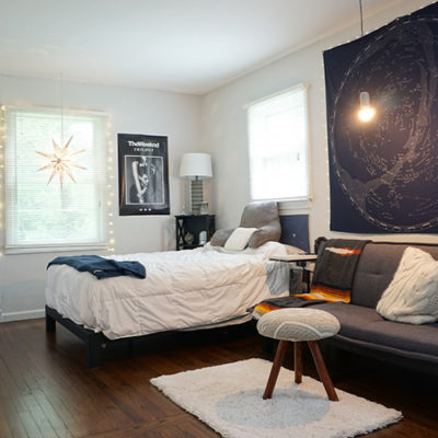 teen bedroom renovation and cleanup