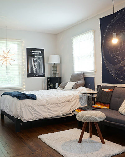 Two Rooms in One – a Teen Bedroom, Millennial Approved