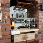 DIY Home Wine Bar Repurpose