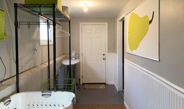 Real Life Basement Laundry Room