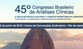 45º Congresso Brasileiro de AnáIises Clínicas - CBAC