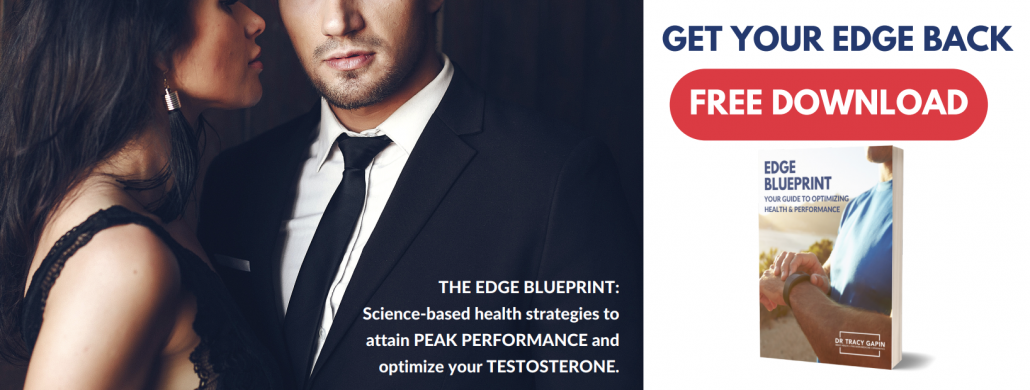 Get your edge back. A men's health and precision performance program.