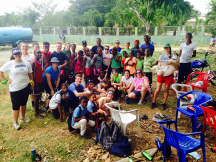 CFK volunteers and friends from La Ceiba