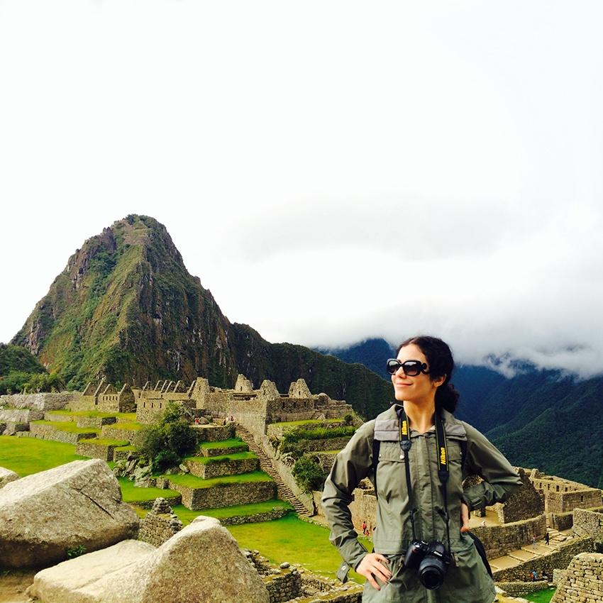 Kathy Jalali at Machu Pichu