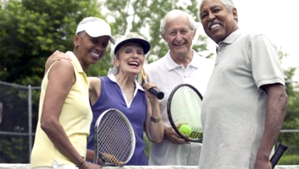 Start your senior exercise program with an enjoyable activity
