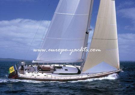 Armonia, sailing
