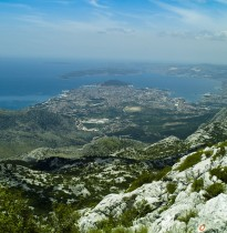 Panorama of the Split Croatia
