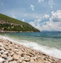Adriatic coast beach