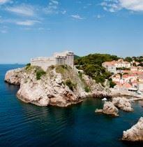 Medieval fort Dubrovnik