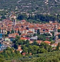 Cres Croatia panorama view
