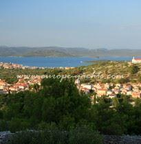 Rogoznica panorama view