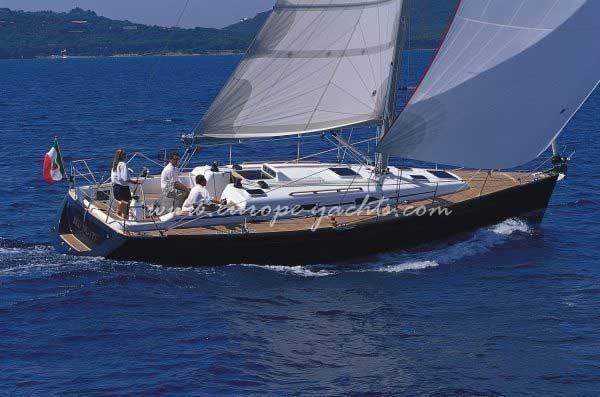 Grand Soleil 40 sailing