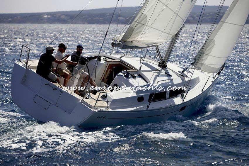 Hanse 350, hanse, sailing yacht