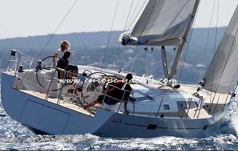 Hanse 470   1 Europe Yacht Charter Croatia, Greece, Luxury Mega