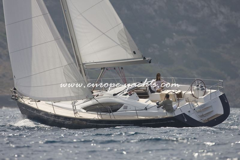 Jeanneau 50 DS, Jeanneau, sailing yacht, yacht
