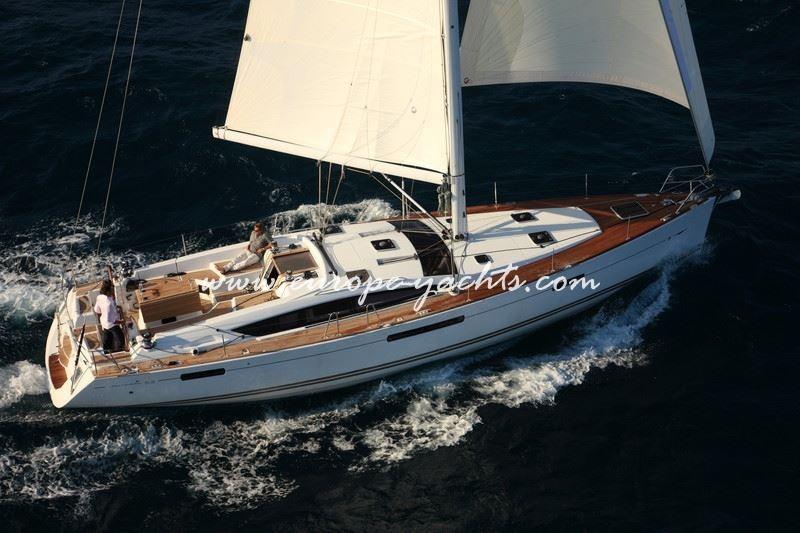 Jeanneau 53, Jeanneau, sailing yacht, yacht