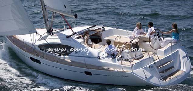 Jeanneau Sun Odyssey 45, jeanneau, sailing yacht, yacht