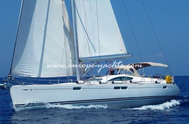 Jeanneau Sun Odyssey 54, Jenneau, Sun Odyssey 54, sailing yacht