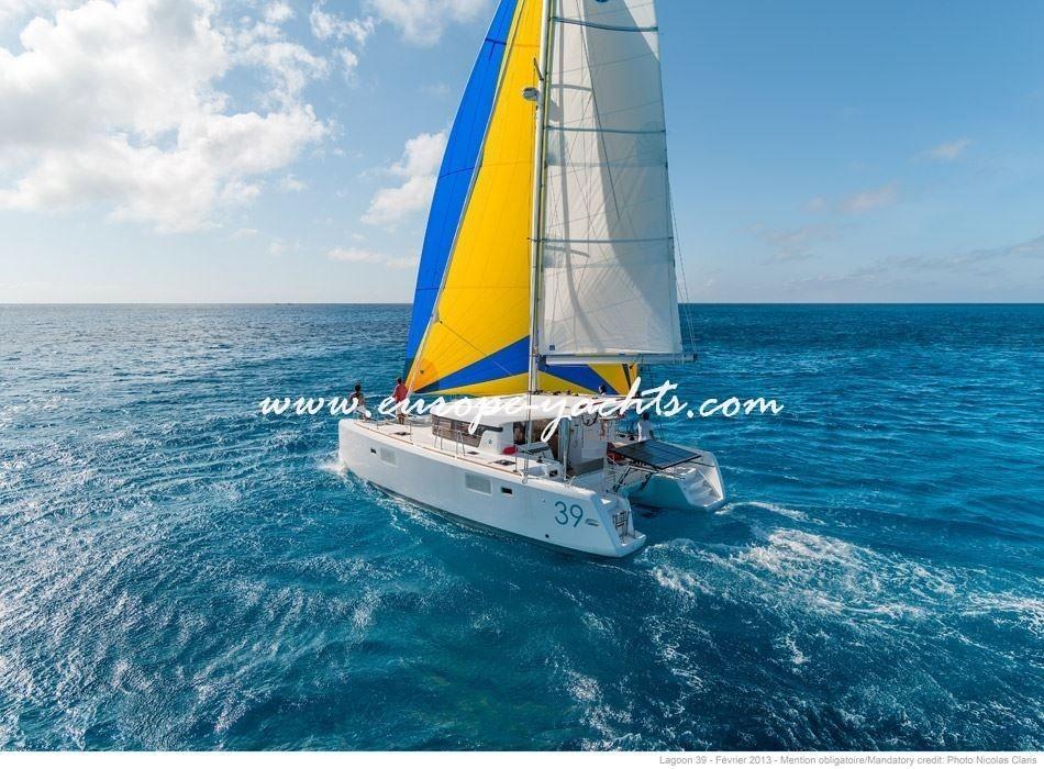 Lagoon 39 Catamaran Charter Croatia