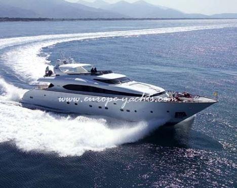 Nalani Maiora, Nalani, maiora, motor yacht