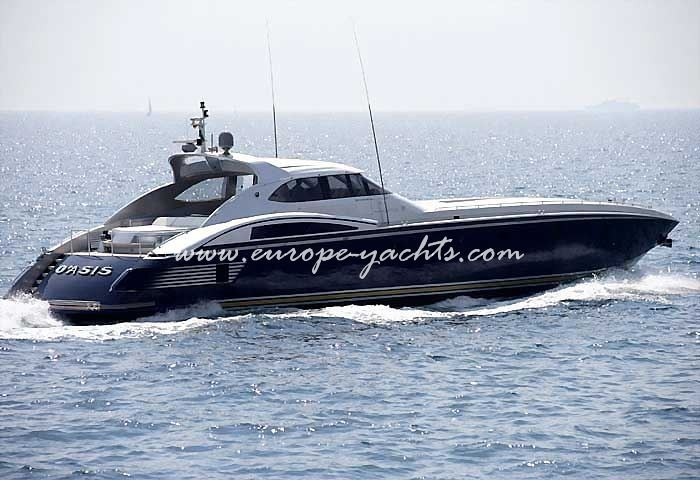 O Asis Baglietto, O Asis, Baglietto, motor yacht