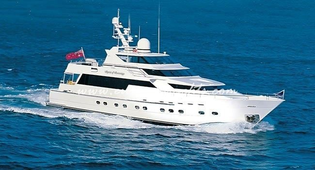 Sovereign, motor yacht