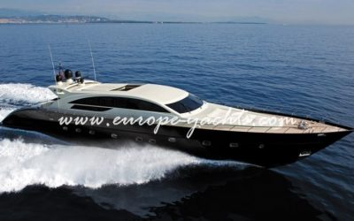 Tecnomar Velvet 35 sea side