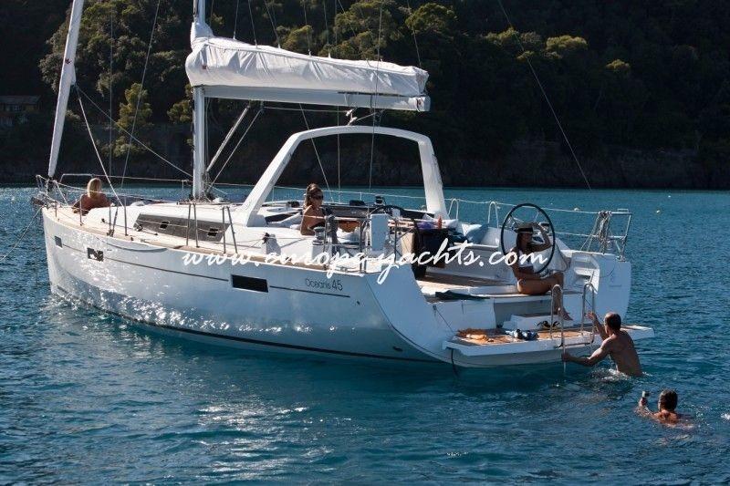 Sail Croatia On Beneteau Oceanis 45 With Europe Yachts Charter