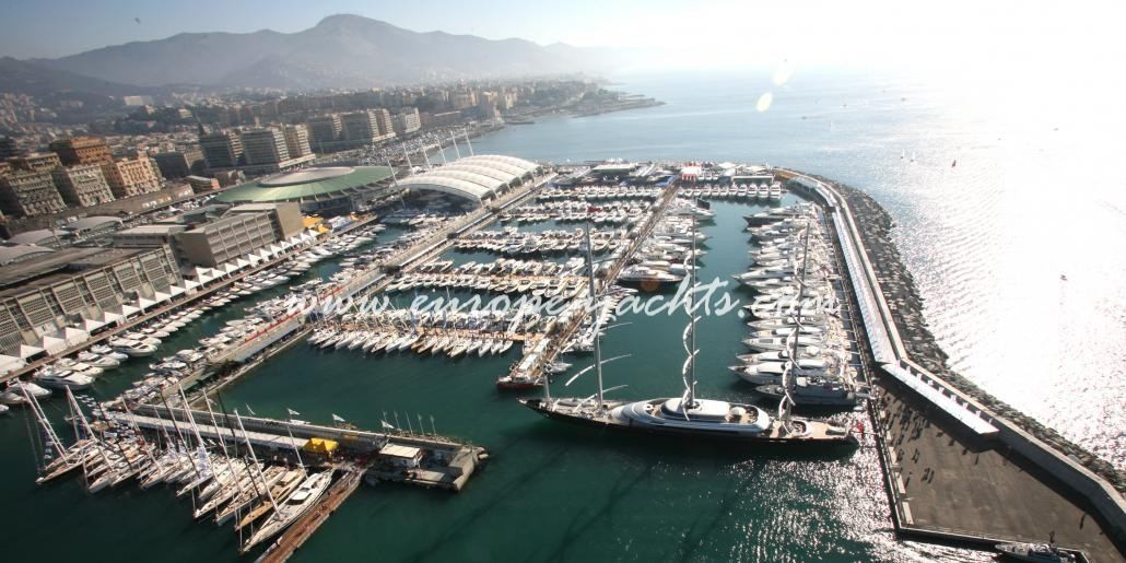 Genoa boat show by Europe Yachts Charter