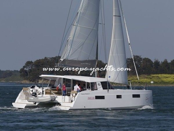 Nautitech Open 40 Catamaran Charter Greece