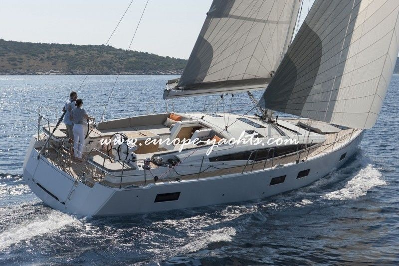 Jeanneau 54 Sailing Yacht Charter Greece with Europe Yachts Charter