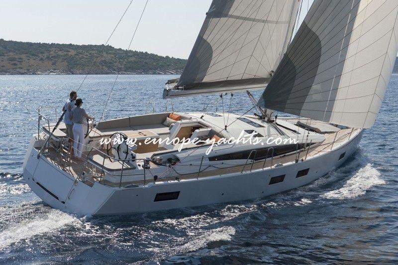 Jeanneau 54 Sailing Yacht Charter Greece with Europe Yachts Charter