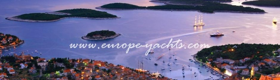 Yacht charter Croatia and visit island of Hvar with Europe Yachts